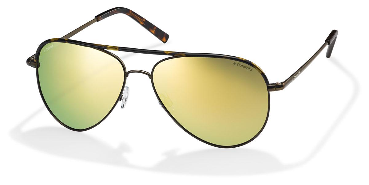 Очки поляризационные Polaroid, цвет: желтый, коричневый. PLD6011.S.PKJ.LMPLD6011.S.PKJ.LMПри отражении солнечного света от горизонтальной поверхности – такой, как дорога или вода – часто получается сконцентрированный горизонтально поляризованный свет. Такое явление называется блик. Вертикально поляризованный свет полезен для человеческого глаза. Блики же могут существенно влиять на зрение: ослепляют, ухудшают зрение, снижают его остроту и вызывают раздражение. Поляризованные солнцезащитные очки Polaroid блокируют блики и обеспечивают защиту от ультрафиолета, благодаря им вы сможете видеть лучше и в то же время защищать глаза от вредного излучения. В них используются эксклюзивные линзы UltraSight™, произведенные с использованием инновационной технологии Thermofusion™. Эти высококачественные линзы состоят из девяти слоев для обеспечения полной защиты ваших глаз и возможности видеть все без искажений. Кроме того, это эффектный аксессуар, который наверняка станет изюминкой  вашего индивидуального стиля. Оправа не только красивая, но и прочная, а линзы со временем...