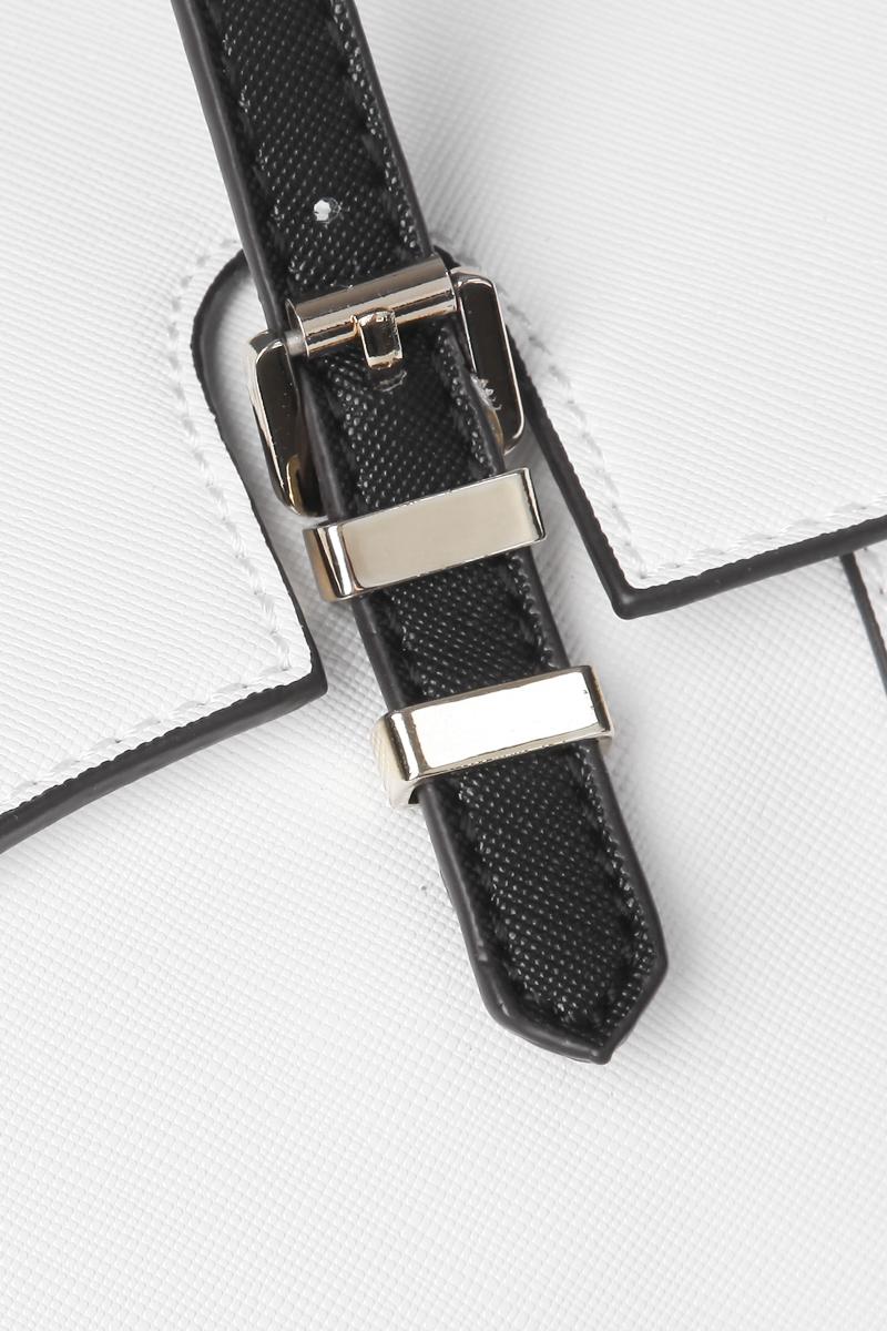 Сумка женская Calipso, цвет: белый, черный. 056-061286-288