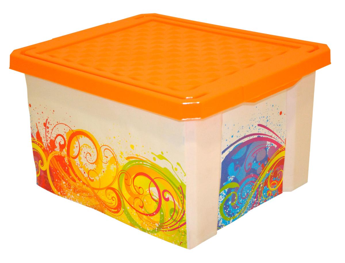 Ящик для хранения BranQ Optima. Брызги, 12 лBQ2583БРУниверсальный ящик для хранения BranQ Optima. Брызги, выполненный из прочного пластика, поможет правильно организовать пространство в доме и сэкономить место. Ящик, декорированный оригинальным принтом, впишется в любой интерьер и дополнит его. В нем можно хранить все, что угодно: одежду, обувь, детские игрушки и многое другое. Прочный каркас ящика позволит хранить как легкие вещи, так и переносить собранный урожай овощей или фруктов. Изделие оснащено крышкой, которая защитит вещи от пыли, грязи и влаги.