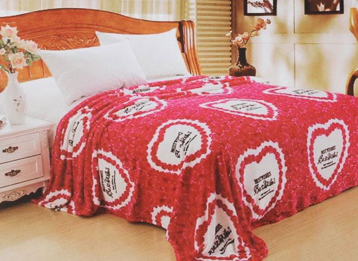 Плед Arya Valentine, цвет: красный, белый, черный, 180 х 220 смTR00002846Плед Arya Valentine - это идеальное решение для вашего интерьера. Он порадует вас легкостью, нежностью и оригинальным дизайном. Плед выполнен из 100% микрофибры. Микрофибра считается одной из самых популярных тканей. Это материал синтетического происхождения из полиэфирных волокон. Изделия из микрофибры не мнутся и легко стираются. После стирки очень быстро высыхают. Плед - это такой подарок, который будет всегда актуален, особенно для ваших родных и близких, ведь вы дарите им частичку своего тепла. Продукция торговой марки Arya сделана с особой заботой, специально для вас и уюта в вашем доме.