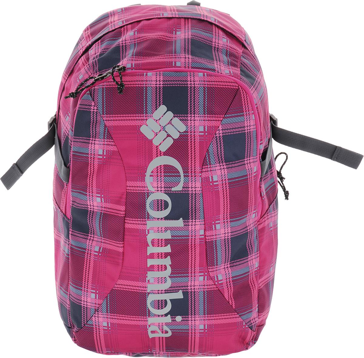 Рюкзак городской Columbia Windward Daypack, цвет: розовый, серый. 1587581-628