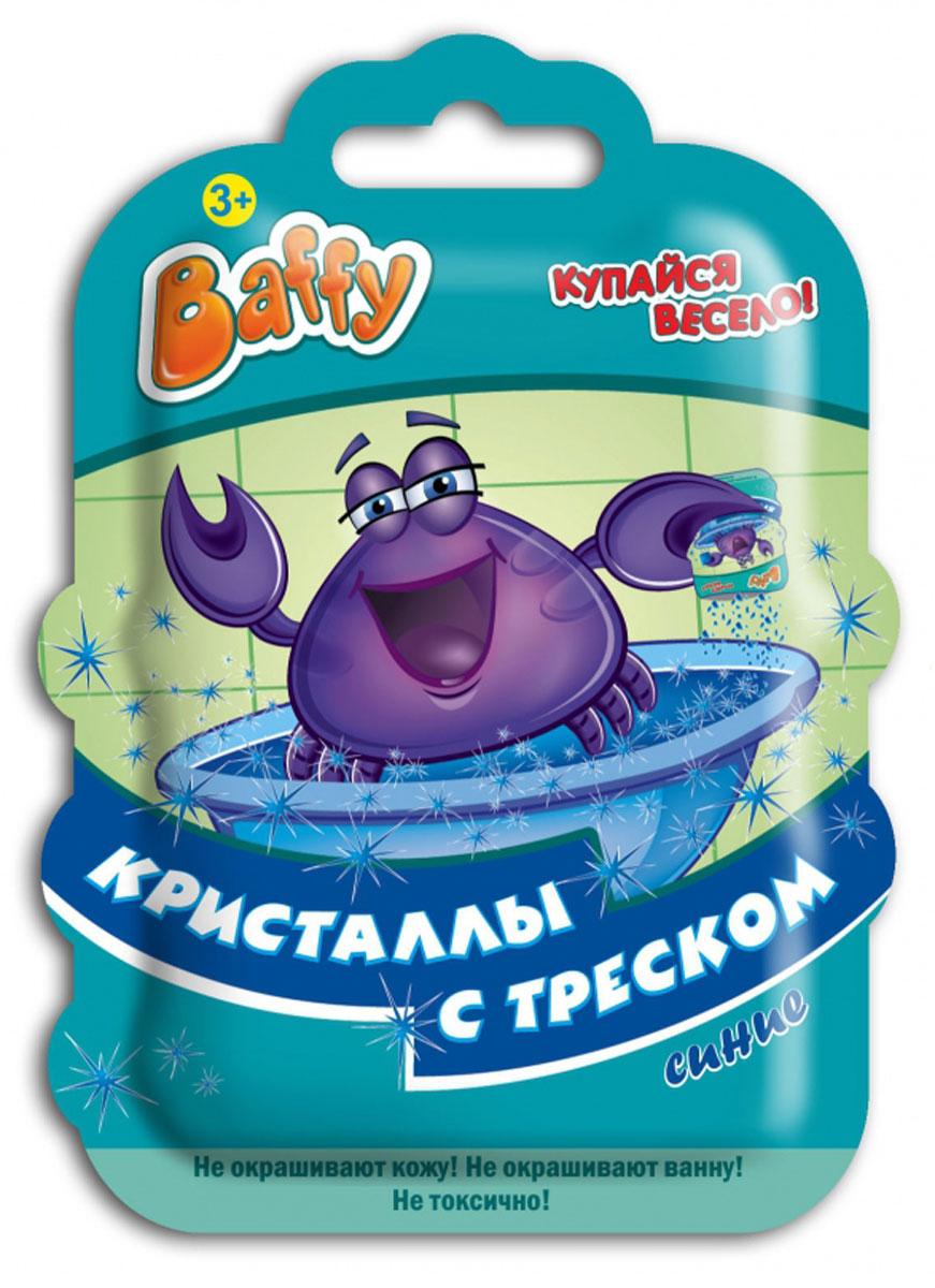 Baffy Соль для ванны Кристаллы с треском цвет синийD0104_синийКупание в ванне превратится в интересную увлекательную игру с помощью соли для ванны Baffy Кристаллы с треском. Кристаллы соли не только окрашивают воду, но и удивительно потрескивают при взаимодействии с водой. Просто добавьте кристаллы в воду и наблюдайте за трещащим цветным представлением! Не окрашивает кожу и ванну. Безопасно для кожи ребенка. Вес: 10 гр.