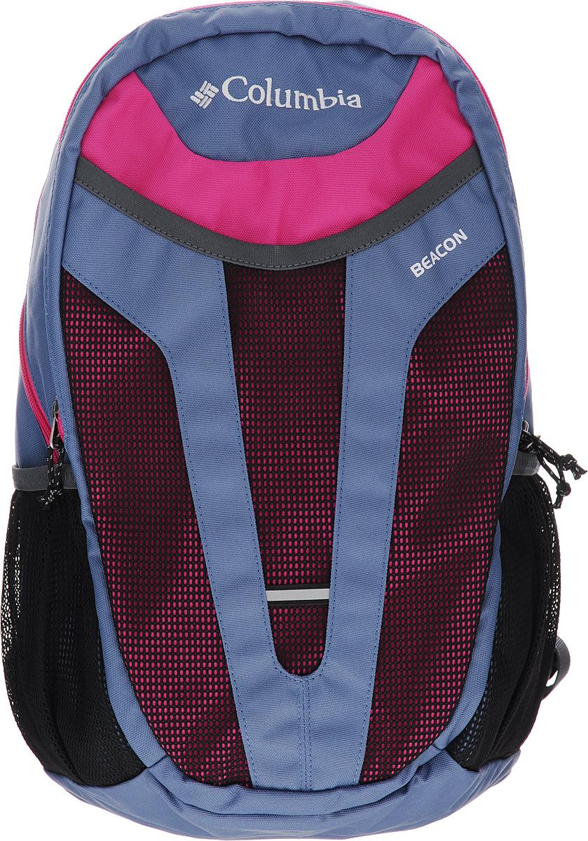 Рюкзак городской Columbia Beacon Daypack, цвет: сиреневый, розовый, черный. 1587561-5081587561-508Функциональный рюкзак Columbia Beacon Daypack с большим количеством карманов и двумя отделениями прекрасно подойдет как для повседневного использования, так и для поездок на природу. Модель дополнена мягкими регулируемыми плечевыми лямками, мягким карманом для ноутбука, а также карманами из сетчатой ткани по бокам для быстрого доступа к вещам.