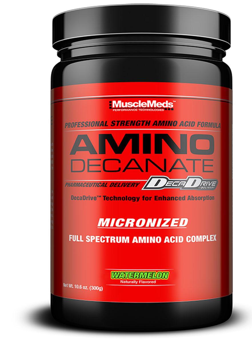 BCAA Muscle Meds AMINO DECANATE Арбуз, 360 г ( 0891597002788 )