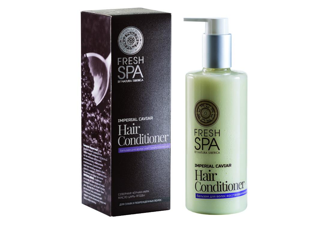 Fresh Spa Бальзам восстанавливающий Imperial Caviar, 300 мл086-01-33748Роскошный восстанавливающий бальзам – это полноценный, изысканный уход за Вашими волосами. Интенсивно питает и укрепляет волосы по всей длине. Восстанавливает поврежденные участки, придавая волосам естественную эластичность, упругость и неповторимый блеск. Натуральный экстракт северной черной икры — богатейший источник омега-3, жирных кислот, белков, витаминов А, В, С, D, Е, йода, лецитина, минеральных и других полезных элементов, которые способствуют активному обновлению клеток. Разглаживает волосы, обладает мгновенным восстанавливающим и омолаживающим свойствами. Органическое масло царь-ягоды — неиссякаемый, полноценный источник множества витаминов и микроэлементов, которые прекрасно увлажняют, интенсивно питают, укрепляют волосы по всей длине. Восстанавливает поврежденные участки, придавая волосам естественную эластичность, упругость и неповторимый блеск. Эффект: Структура волос восстанавливается; волосы невероятно гладкие и шелковистые, наполненные здоровым блеском; защита...