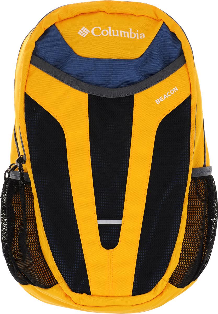 Рюкзак городской Columbia Beacon Daypack, цвет: желтый, черный. 1587561-703