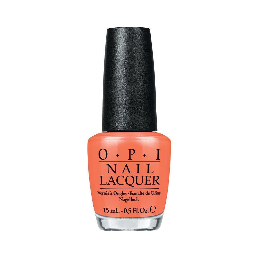 OPI Лак для ногтей Where Did Suzis Man-go?, 15 млNLA66Лак для ногтей OPI быстросохнущий, содержит натуральный шелк и аминокислоты. Увлажняет и ухаживает за ногтями. Форма флакона, колпачка и кисти специально разработаны для удобного использования и запатентованы.