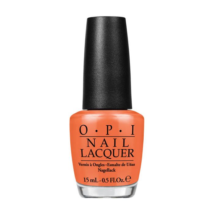 OPI Лак для ногтей Orange You Stylish!, 15 млNLC33Лак для ногтей OPI быстросохнущий, содержит натуральный шелк и аминокислоты. Увлажняет и ухаживает за ногтями. Форма флакона, колпачка и кисти специально разработаны для удобного использования и запатентованы.