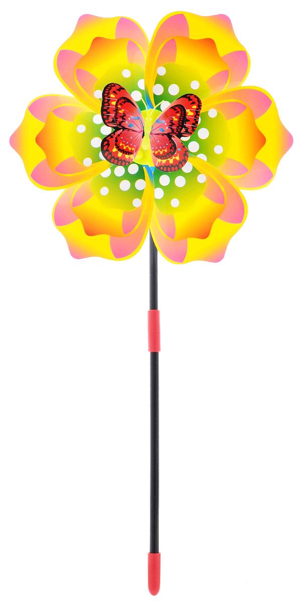 Zilmer Вертушка Ветрячок цвет зеленый желтый розовыйZIL1810-020Вертушки - популярное летнее развлечение на свежем воздухе. Вертушка Zilmer Ветрячок имеет яркий привлекательный дизайн, разноцветные лепесточки крутятся даже от малейшего ветерка. Игрушка прекрасно подойдет и девочкам, и мальчикам, подарит отличное настроение и сделает день еще насыщеннее и веселее.