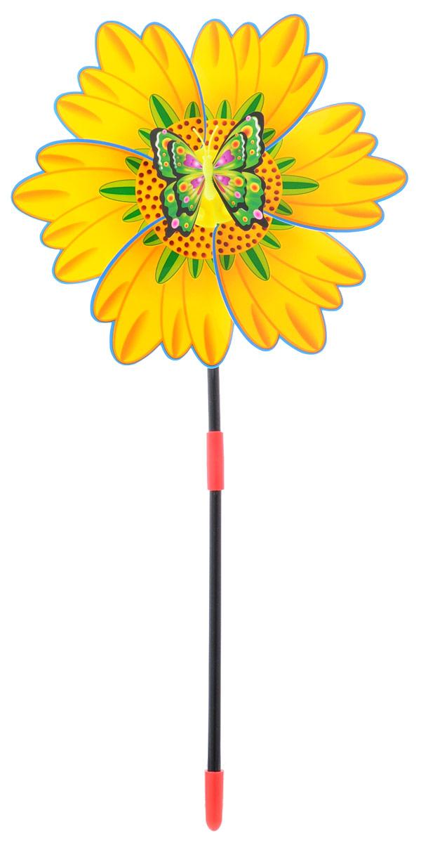 Zilmer Вертушка Ветрячок цвет желтый синий зеленыйZIL1810-020Вертушка Zilmer Ветрячок - популярное летнее развлечение на свежем воздухе. Ветрячок имеет яркий привлекательный дизайн. Разноцветные лепесточки крутятся даже от малейшего ветерка. Игрушка прекрасно подойдет и девочкам, и мальчикам, подарит отличное настроение и сделает день еще насыщеннее и веселее.