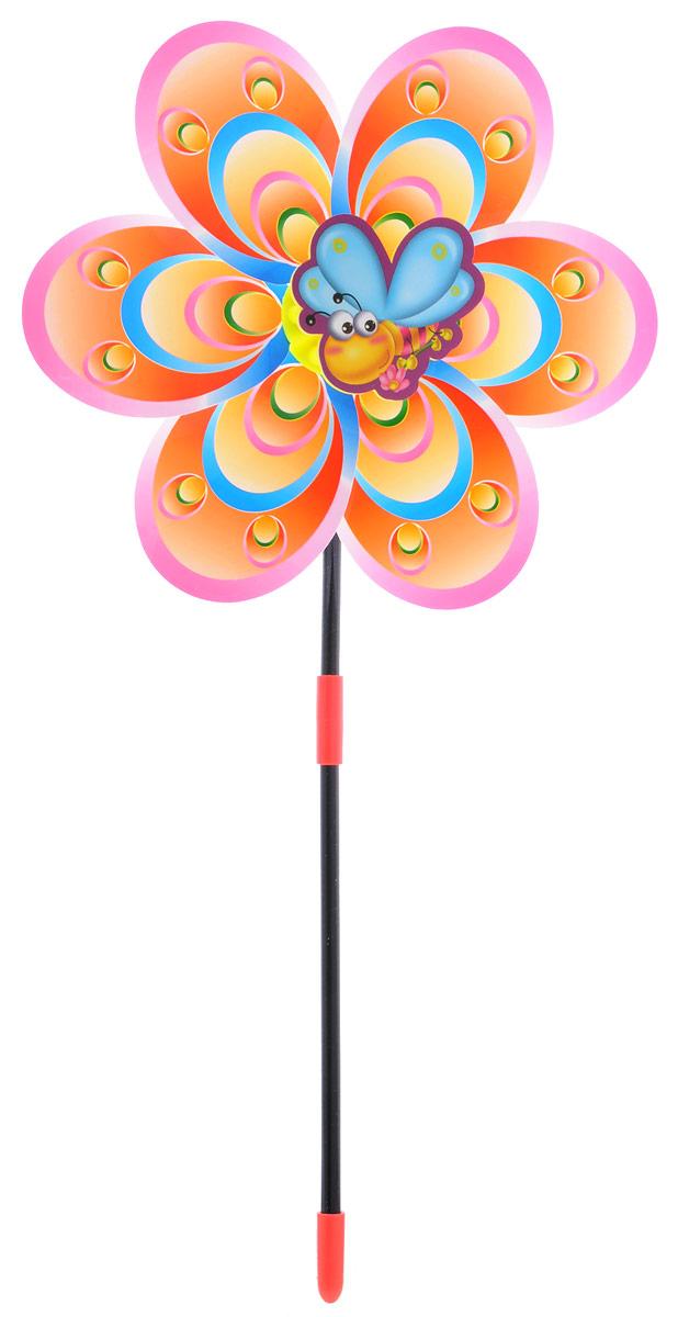 Zilmer Вертушка Ветрячок цвет розовый оранжевый синийZIL1810-020Вертушка Zilmer Ветрячок - популярное летнее развлечение на свежем воздухе. Ветрячок имеет яркий привлекательный дизайн. Разноцветные лепесточки крутятся даже от малейшего ветерка. Игрушка прекрасно подойдет и девочкам, и мальчикам, подарит отличное настроение и сделает день еще насыщеннее и веселее.