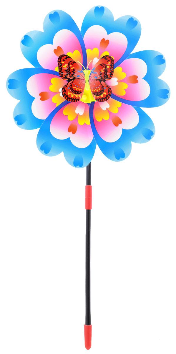 Zilmer Вертушка Ветрячок цвет розовый голубойZIL1810-020Вертушки - популярное летнее развлечение на свежем воздухе. Вертушка Zilmer Ветрячок имеет яркий привлекательный дизайн, разноцветные лепесточки крутятся даже от малейшего ветерка. Игрушка прекрасно подойдет и девочкам, и мальчикам, подарит отличное настроение и сделает день еще насыщеннее и веселее.