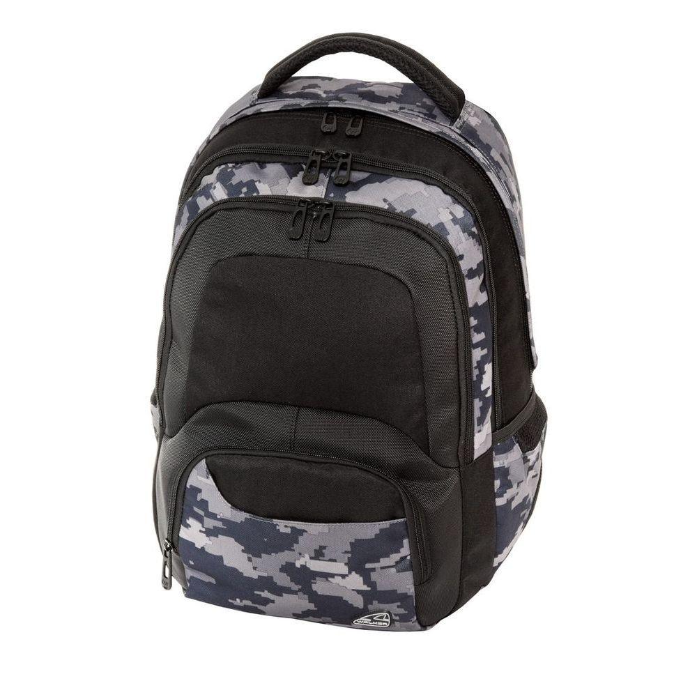 Walker Школьный ранец Switch Camo42135/75Уплотненная спинка и лямки помогают лучше распределить нагрузку и сохранить форму рюкзака независимо от его наполнения. Светоотражающие элементы расположены на передней части рюкзака на боковых и лямках. С ним путешествие становится безопасным.