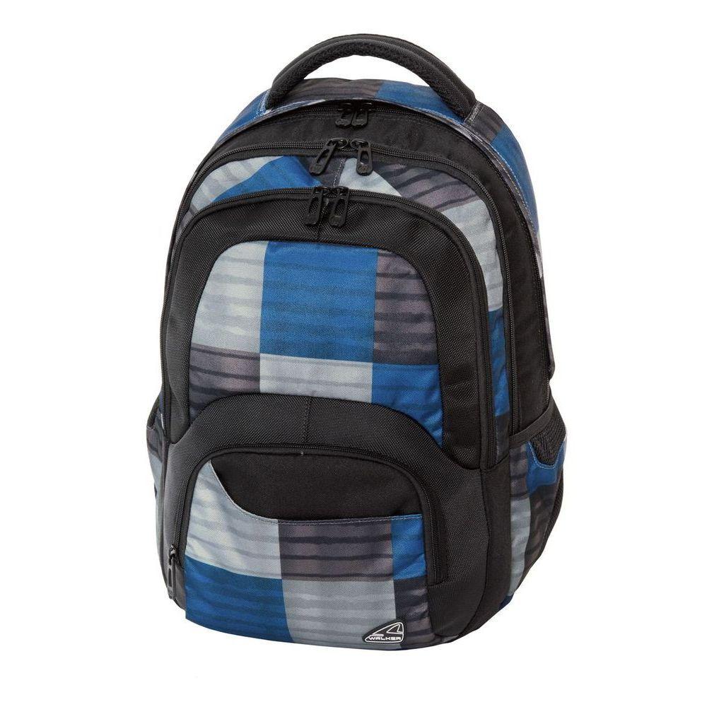 Walker Школьный ранец Switch Sigma42136/70Уплотненная спинка и лямки помогают лучше распределить нагрузку и сохранить форму рюкзака независимо от его наполнения. Светоотражающие элементы расположены на передней части рюкзака на боковых и лямках. С ним путешествие становится безопасным.