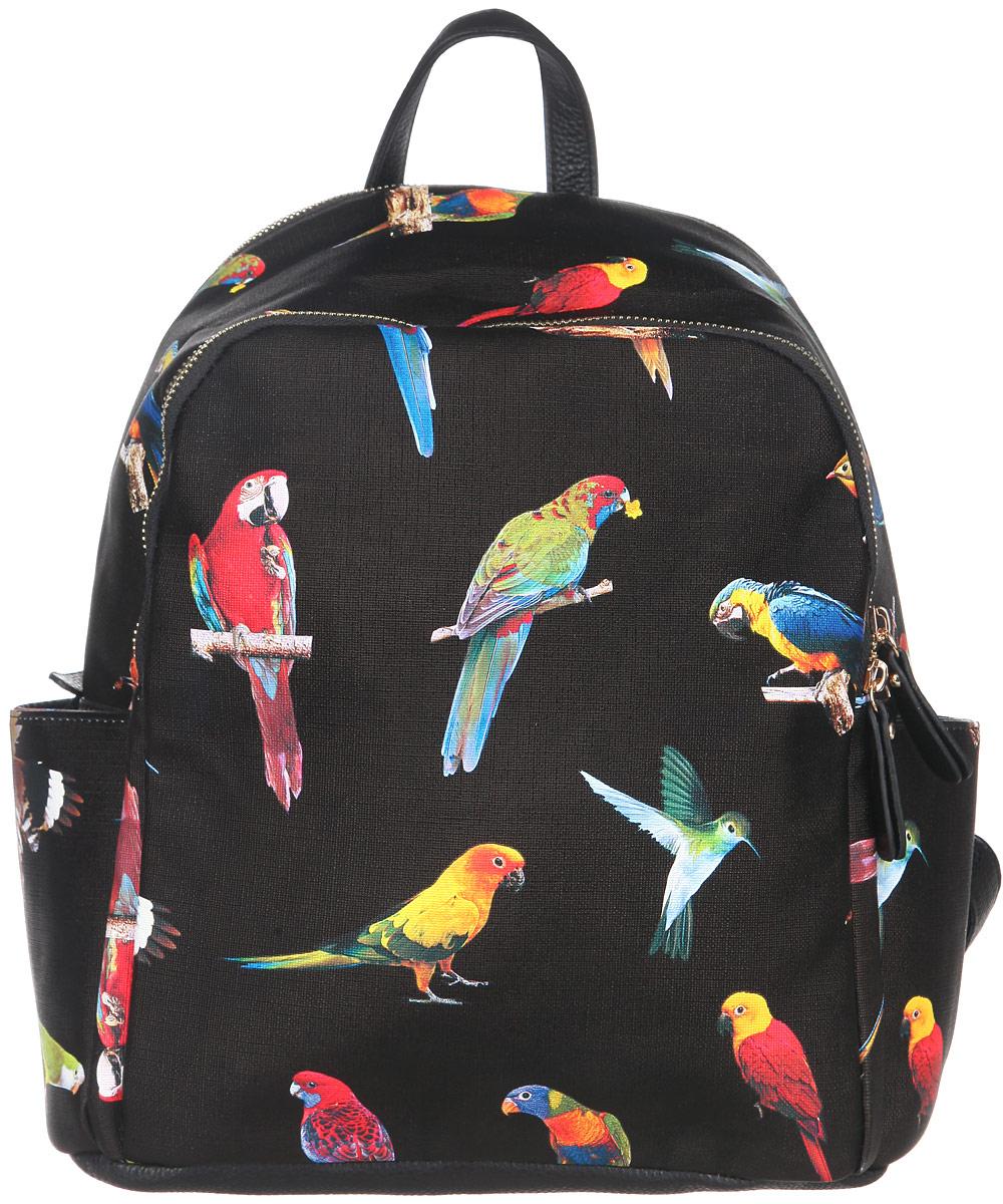 Рюкзак женский Orsa Oro, цвет: черный. D-242/7
