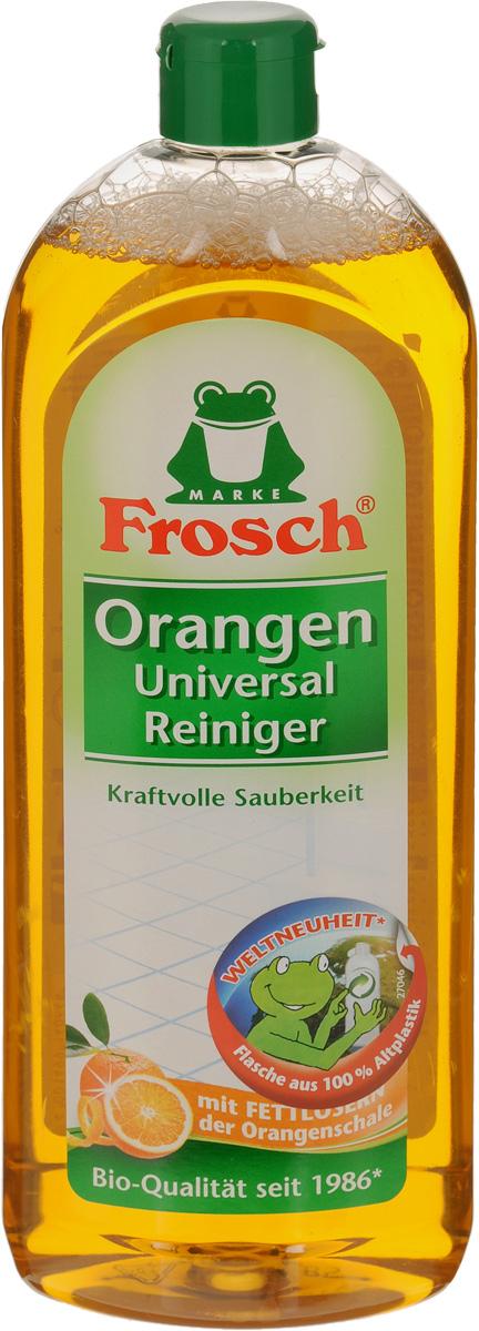 Универсальное чистящее средство Frosch, с ароматом апельсина, 750 мл113065Универсальное чистящее средство Frosch предназначено для мытья полов и уборки любых поверхностей в доме. Благодаря специальным ингредиентам очиститель подходит для удаления жирных загрязнений. Средство удаляет неприятные запахи и оставляет чистоту и свежий цитрусовый аромат. Состав: менее 5% лимонная кислота, моносодиум цитрат, менее 1% лаурил цитрат натрия, ксантановая камедь, дипропиленгликоль, глицерин, ароматизирующие добавки, загуститель, менее 0,1% краситель, бензоат натрия, пропиленгликоль, триэтилцитрат. Товар сертифицирован.