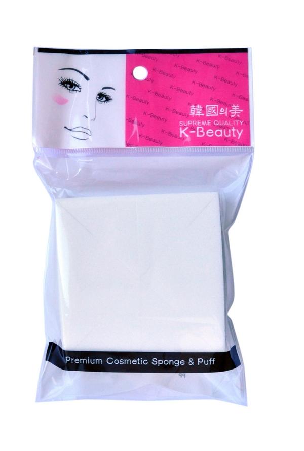 K-Beauty Спонж косметический Квадрат 8 шт300096Косметический спонж предназначен для нанесения тональных средств (корректора, тонального крема, румян, пудры и т.д.), а также коррекции макияжа. Спонж позволяет равномерно распределить не только сухие, но и кремовые текстуры, а его удобная треугольная форма подходит для обработки таких труднодоступных зон, как область вокруг глаз и носогубные складки. Упаковка состоит из 8 отрывных сегментов. Мягкий и нежный спонж не травмирует, подходит даже для чувствительной кожи.