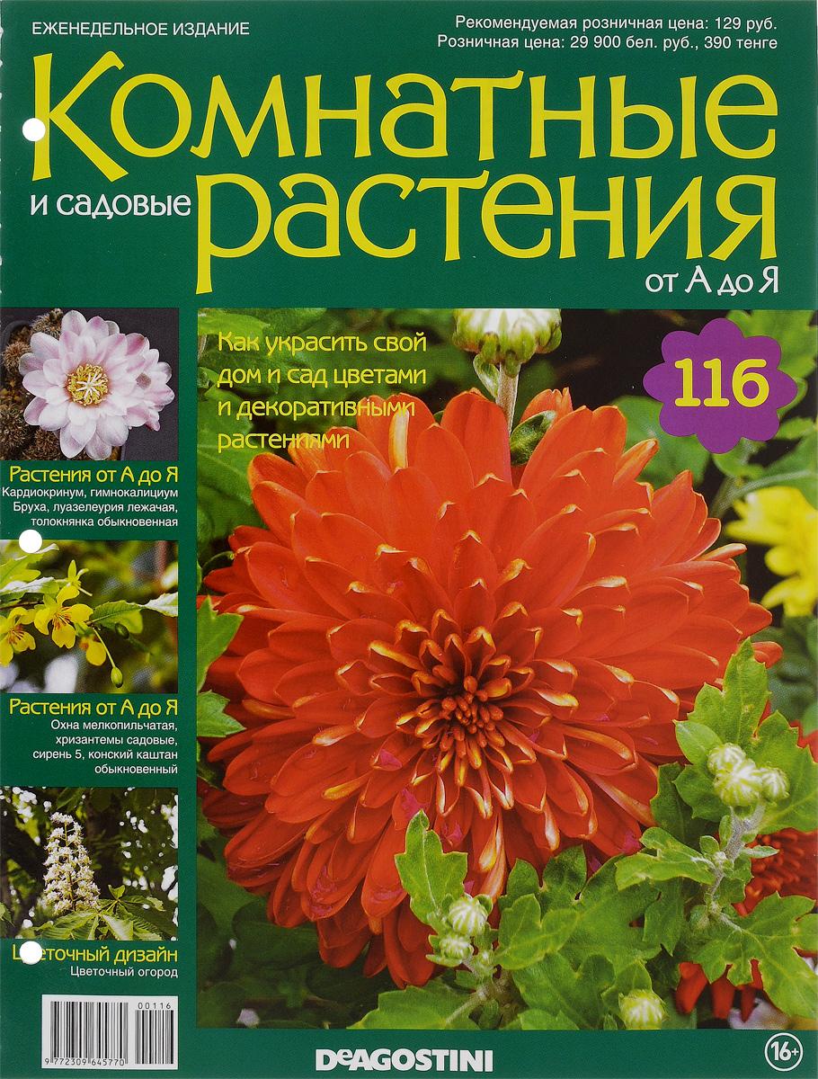 Журнал Комнатные и садовые растения. От А до Я №116VRD116Хотите сделать приятный и полезный подарок людям, увлекающимся цветоводством, или углубить собственные познания в этой сфере? Коллекция журналов Комнатные и садовые растения. От А до Я поможет вам в этом. Из журнала вы узнаете, как украсить свой дом и сад цветами и декоративными растениями. Категория 16+.