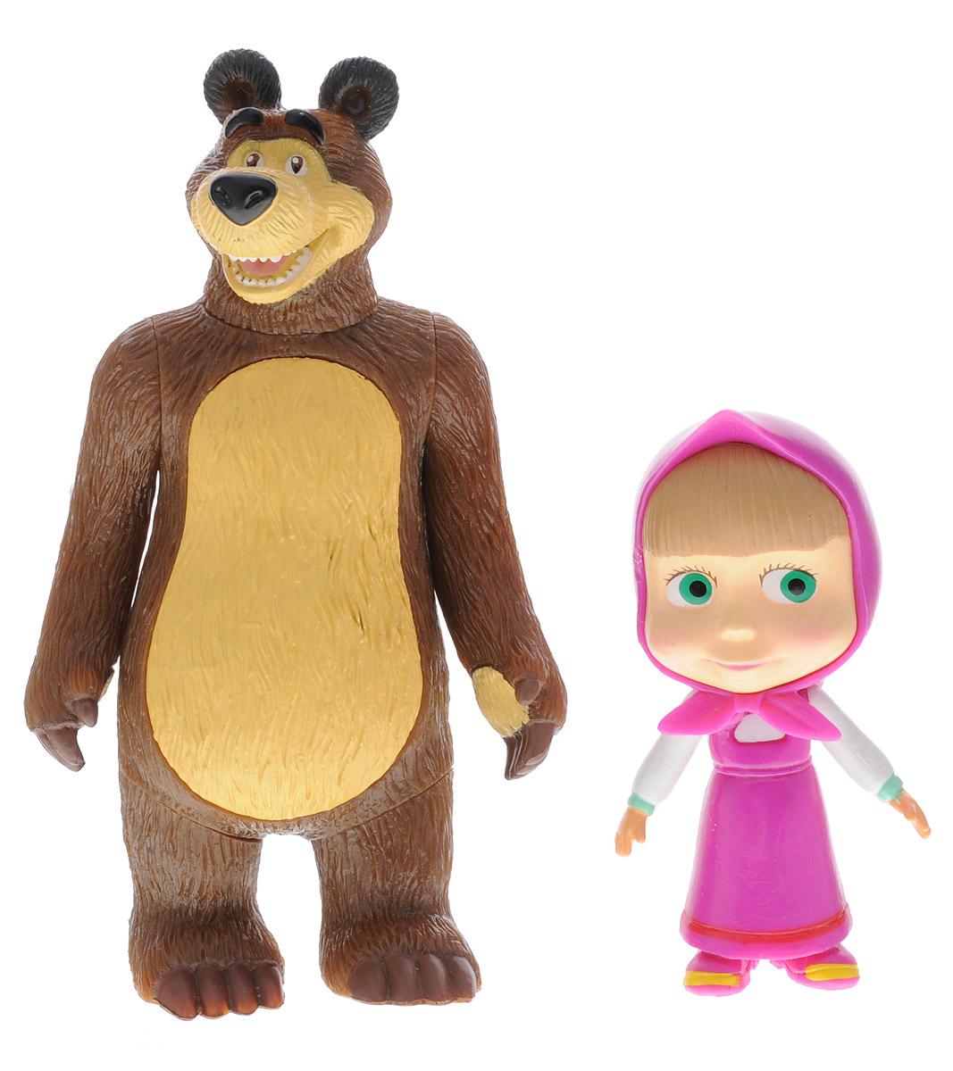 Играем вместе Набор фигурок Маша и МедведьF-20RНабор фигурок Играем вместе Маша и Медведь - это отличный подарок для маленьких поклонников мультфильма Маша и Медведь. Фигурки выполнены из высококачественного и безопасного материала, яркие краски повторяют дизайн персонажей мультфильма Маша и Медведь. Фигурки небольшого размера, удобно помещаются в руке ребенка. У обеих игрушек крутятся ручки и голова. Яркие и забавные фигурки непременно станут любимыми игрушками малыша, он сможет часами играть с ними, придумывая и разыгрывая различные истории или сюжеты из мультфильма.