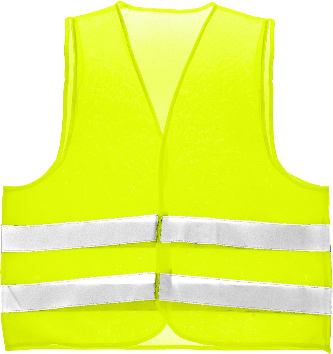 Жилет светоотражающий Rexxon, цвет: салатовый. Размер XL1-02-1-1-0_салатовыйСветоотражающий жилет Rexxon обеспечит безопасную идентификацию людей, находящихся на проезжей части дороги. Жилет выполнен из 100% сетчатого полиэстера. Застегивается на липучки.
