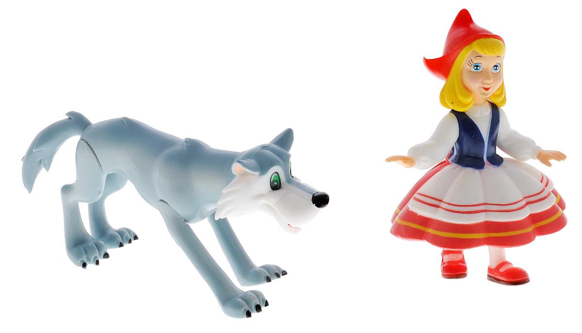 Играем вместе Набор фигурок Красная Шапочка и ВолкF-08-RНабор фигурок Играем вместе Красная Шапочка и Волк - это отличный подарок для маленьких поклонников мультфильма Красная Шапочка. Фигурки выполнены из высококачественного и безопасного материала, яркие краски повторяют дизайн главных персонажей мультфильма. Фигурки небольшого размера, удобно помещаются в руке ребенка. У обеих игрушек подвижные ручки и голова. Яркие и забавные фигурки непременно станут любимыми игрушками малыша, он сможет часами играть с ними, придумывая и разыгрывая различные сюжеты из мультфильма.