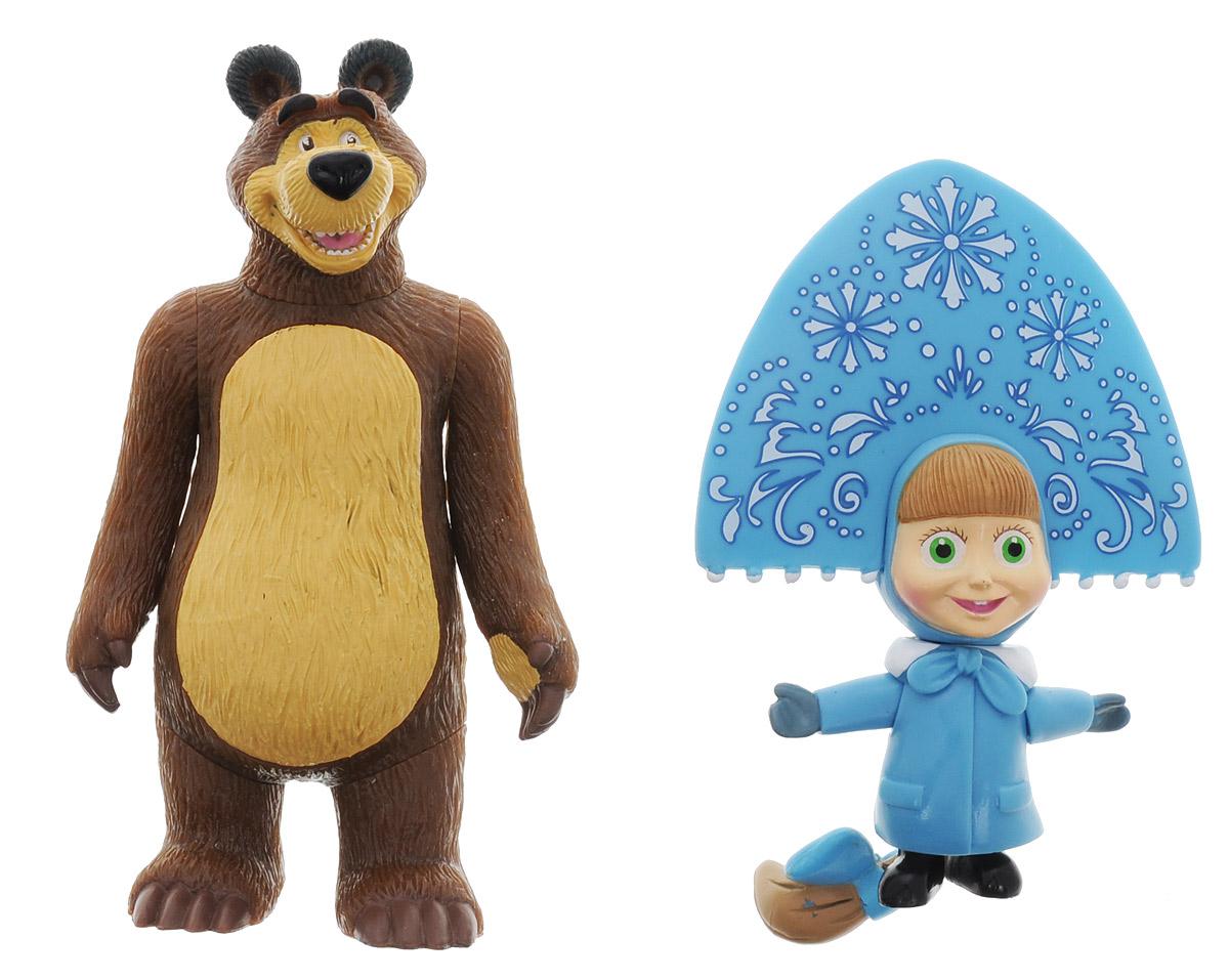 Играем вместе Набор фигурок Маша-Снегурочка и МедведьF-21RНабор фигурок Играем вместе Маша-Снегурочка и Медведь - это отличный подарок для маленьких поклонников мультфильма Маша и Медведь. Фигурки выполнены из высококачественного и безопасного материала, яркие краски повторяют дизайн персонажей мультфильма Маша и Медведь. Фигурки небольшого размера, удобно помещаются в руке ребенка. У обеих игрушек крутятся ручки, ножки и голова. Яркие и забавные фигурки непременно станут любимыми игрушками малыша, он сможет часами играть с ними, придумывая и разыгрывая различные истории или сюжеты из мультфильма.