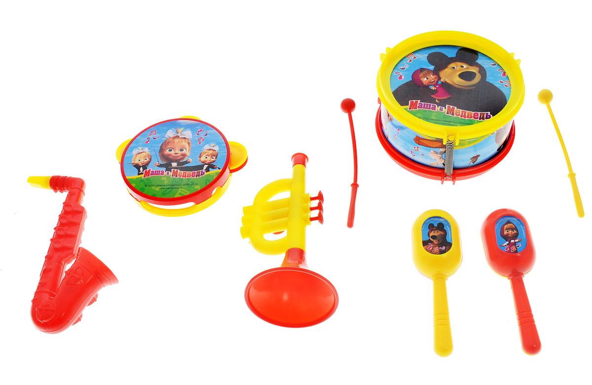 Играем вместе Набор музыкальных инструментов Маша и Медведь 8 предметов