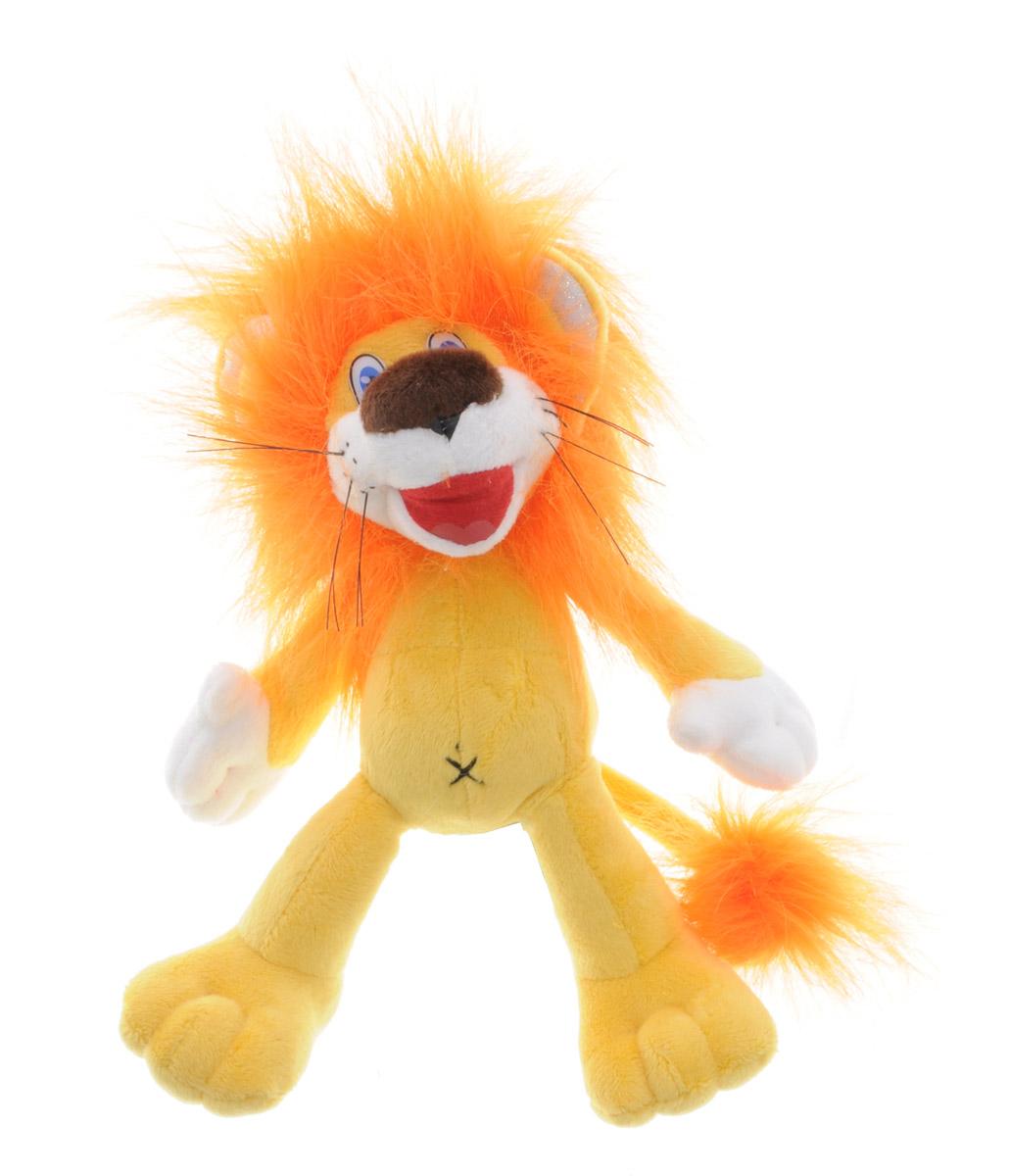 Мульти-Пульти Мягкая озвученная игрушка Львенок 20 смV72262/20Мягкая озвученная игрушка Мульти-Пульти Львенок вызовет улыбку у каждого, кто ее увидит! Она выполнена в виде всем известного персонажа - львенка из мультфильма Как Львенок и Черепаха пели песню. Туловище игрушки - мягконабивное, глазки - пластиковые. Если нажать игрушке на животик, львенок произнесет фразы и споет песни из мультфильма: Ой какая красивая песня, ну просто замечательная песня, Я на солнышке лежу, Рядом львеночек лежит и ушами шевелит, только я все лежу и на львенка не гляжу. Игрушка подарит своему обладателю хорошее настроение и позволит насладиться обществом любимого героя! Игрушка помогает малышу познавать окружающий мир через тактильные ощущения, знакомит его с животным миром планеты, формирует цветовосприятие и способствуют концентрации внимания.