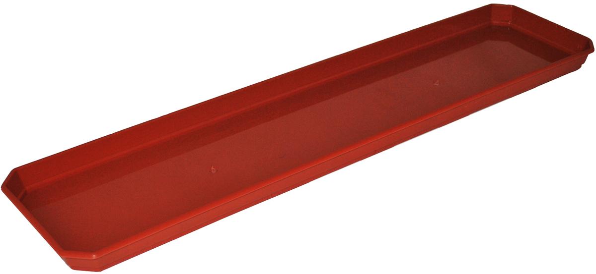 Поддон для балконного ящика InGreen, цвет: терракотовый, длина 60 смING1060ТРПоддон для балконного ящика InGreen выполнен из прочного цветного пластика. Изделие предназначено для стока воды.