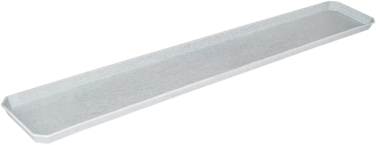 Поддон для балконного ящика InGreen, цвет: мраморный, длина 80 смING1080МРПоддон для балконного ящика InGreen выполнен из прочного цветного пластика. Изделие предназначено для стока воды.
