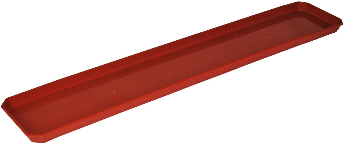 Поддон для балконного ящика InGreen, цвет: терракотовый, длина 80 смING1080ТРПоддон для балконного ящика InGreen выполнен из прочного цветного пластика. Изделие предназначено для стока воды.