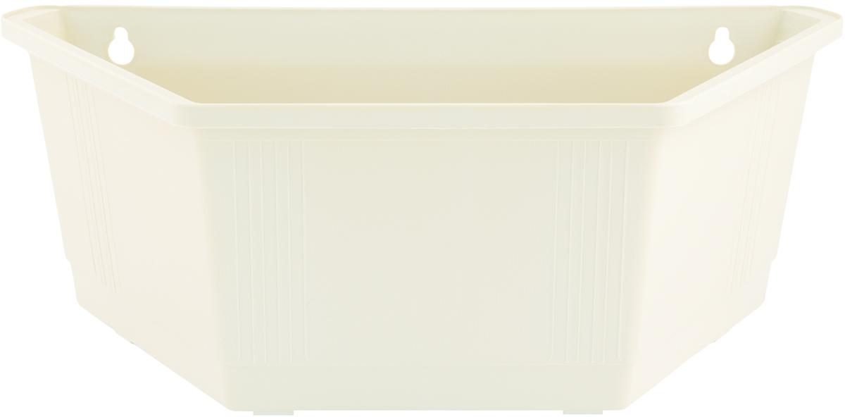 Ящик для цветов InGreen, настенный, 40 х 22 х 15 смING1433БЛЯщик для цветов InGreen, изготовленный из высококачественного пластика, выполнен в форме трапеции. Изделие предусматривает удобные отверстия для крепления на стену. Ящик для цветов InGreen - это прекрасный способ украсить стену, не прибегая к возведению громоздких конструкций. Он подчеркнет красоту и уникальность любого растения и дополнит интерьер помещения.
