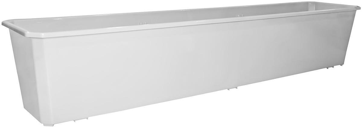 Ящик балконный InGreen, цвет: мраморный, 80 х 17 х 15 см. ING1803МРING1803МРБалконный ящик InGreen, изготовленный из высококачественного цветного пластика, предназначен для выращивания цветов и рассады как на балконе, так и в комнатных условиях.