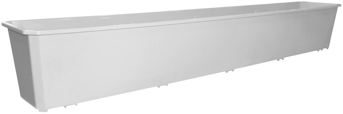 Ящик балконный InGreen, цвет: мраморный, 100 х 17 х 15 см. ING1804ТРING1804МРБалконный ящик InGreen, изготовленный из высококачественного цветного пластика, предназначен для выращивания цветов и рассады как на балконе, так и в комнатных условиях.