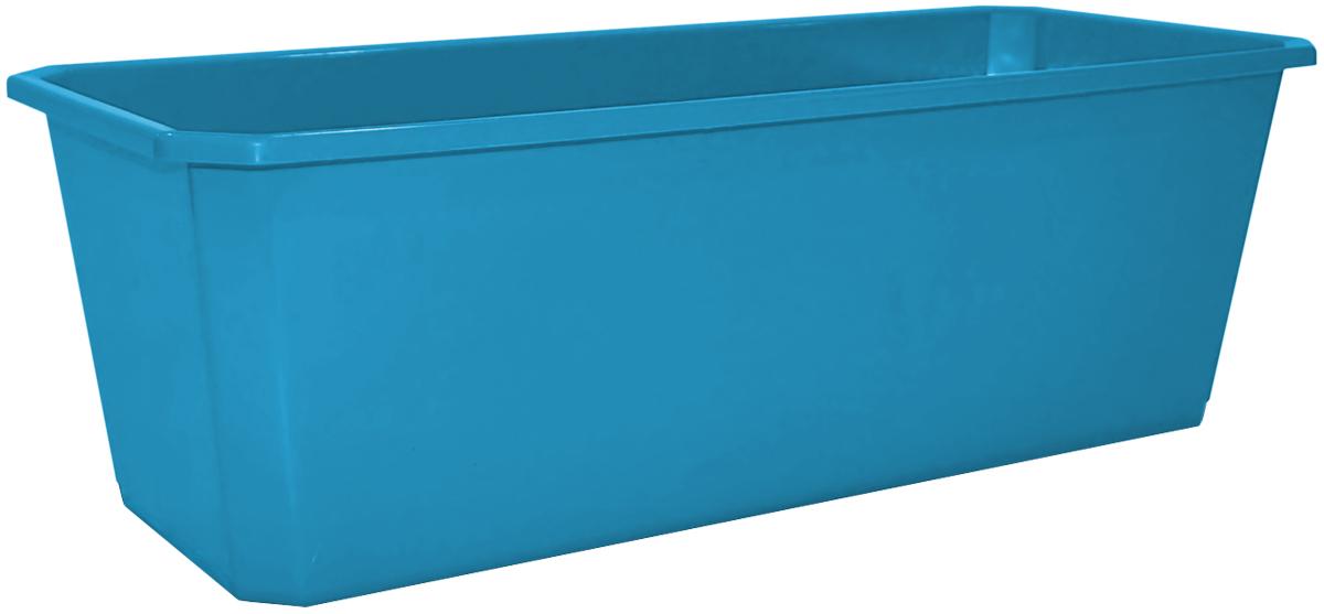 Ящик балконный InGreen, цвет: светло-синий, 40 х 17 х 15 см. ING1805СВСНING1805СВСНБалконный ящик предназначен для высаживания однолетних растений. Модель классической формы выполнена в универсальной цветовой гамме. Размерный ряд представлен 4 размерами. Балконный ящик прочный и, в тоже время, легкий. Неприхотлив в уходе и долговечен.