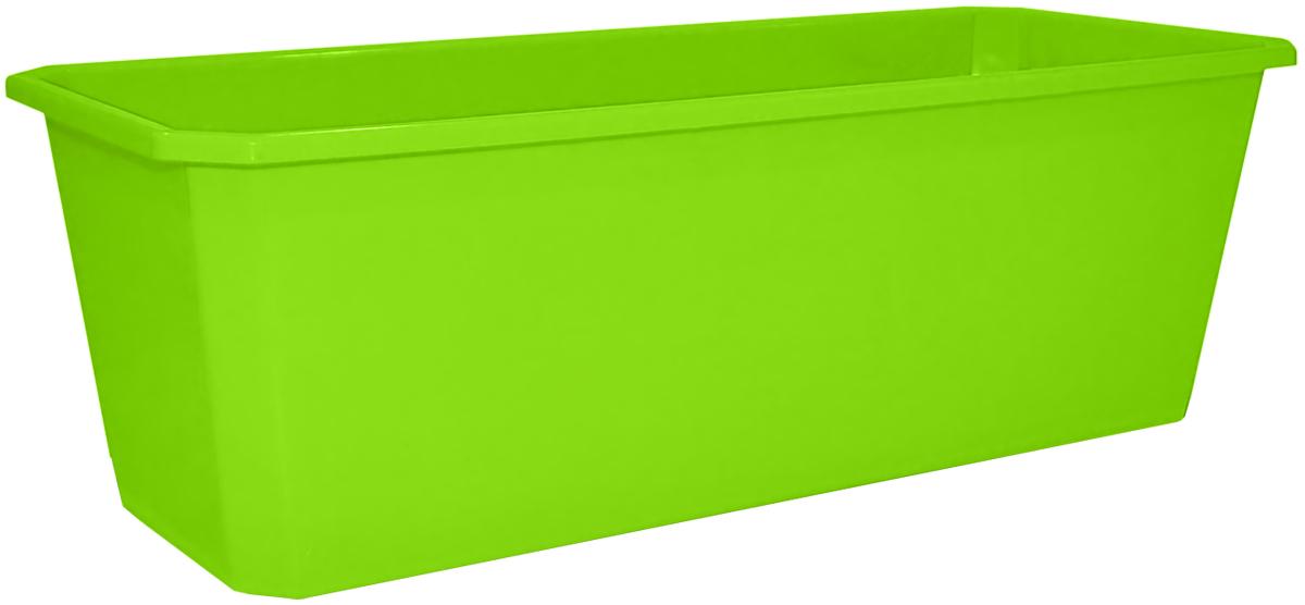 Ящик балконный InGreen, цвет: салатовый, 40 х 17 х 15 см. ING1805СЛING1805СЛБалконный ящик InGreen, изготовленный из прочного цветного пластика. Система нижнего полива очень удобна для отдельного вида растений - при этом вода наливается не сверху, а внутрь поддона. Изделие прекрасно подходит для выращивания рассады, растений и цветов как на балконе, так и в комнатных условиях. Поддон не прилагается.