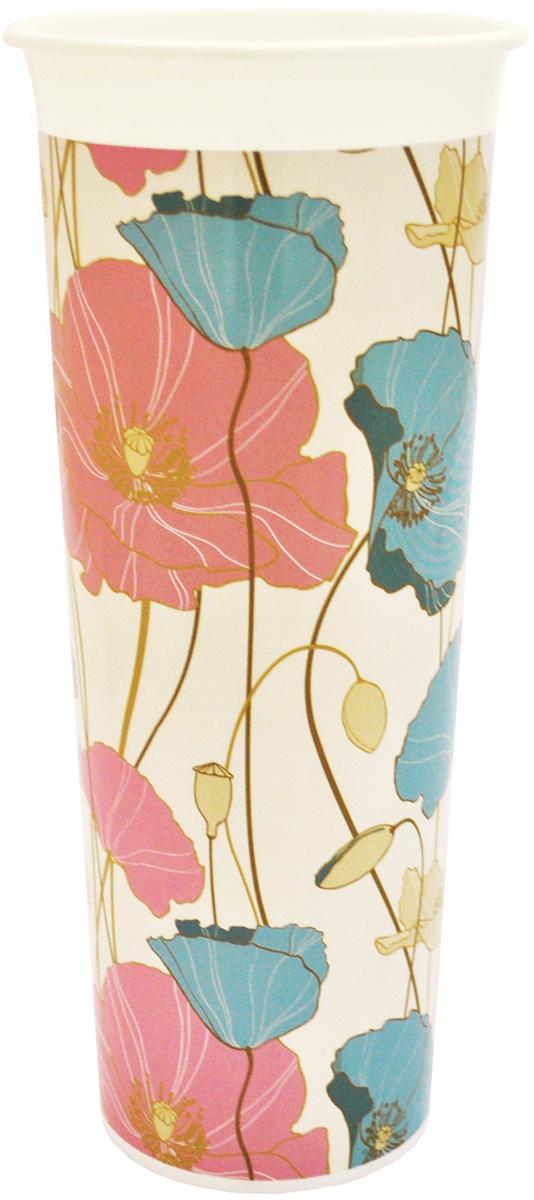 Ваза InGreen Маки, высота 26 смING40002МАКВаза InGreen Маки выполнена из высококачественного пластика и имеет изысканный внешний вид. Такая ваза станет идеальным украшением интерьера и прекрасным подарком к любому случаю. Высота вазы: 26 см.