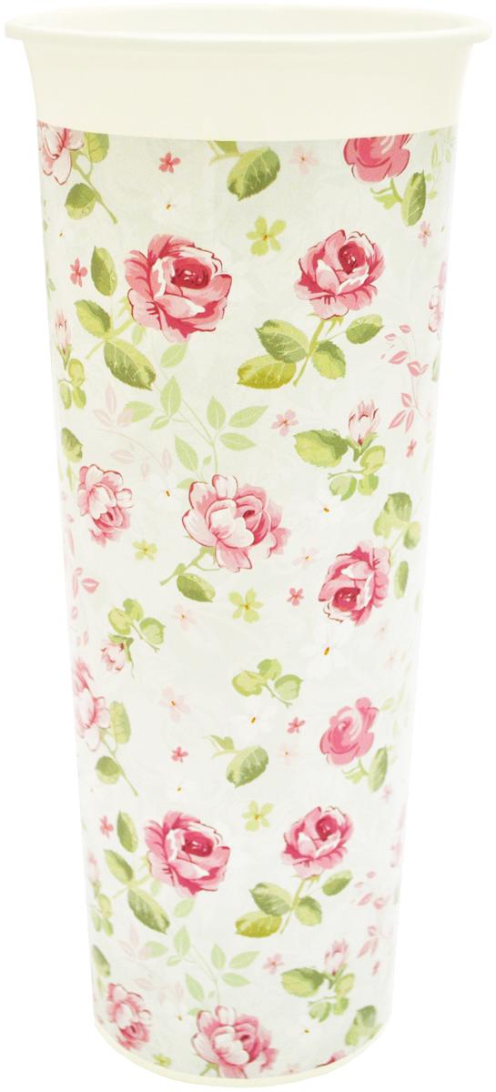 Ваза InGreen Розы, высота 26 смING40002РОЗВаза InGreen Розы выполнена из высококачественного пластика и имеет изысканный внешний вид. Такая ваза станет идеальным украшением интерьера и прекрасным подарком к любому случаю. Высота вазы: 26 см.