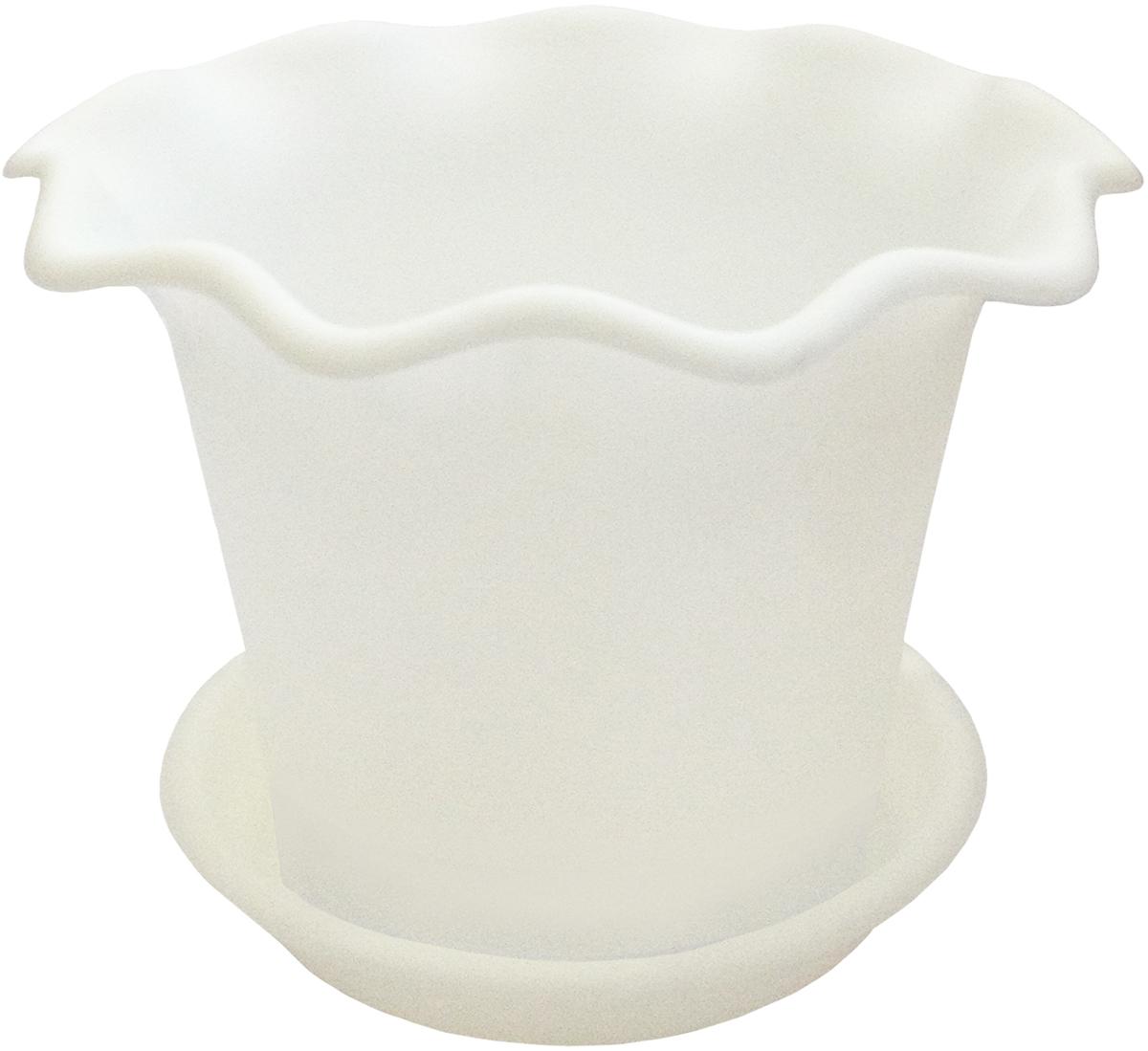 Горшок для цветов InGreen Бали, с поддоном, цвет: белый, диаметр 16 смING45016БЛГоршок InGreen Бали выполнен из высококачественного полипропилена (пластика) и предназначен для выращивания цветов, растений и трав. Снабжен поддоном для стока воды. Такой горшок порадует вас функциональностью, а благодаря лаконичному дизайну впишется в любой интерьер помещения. Диаметр горшка (по верхнему краю): 16 см. Высота горшка: 12,3 см.