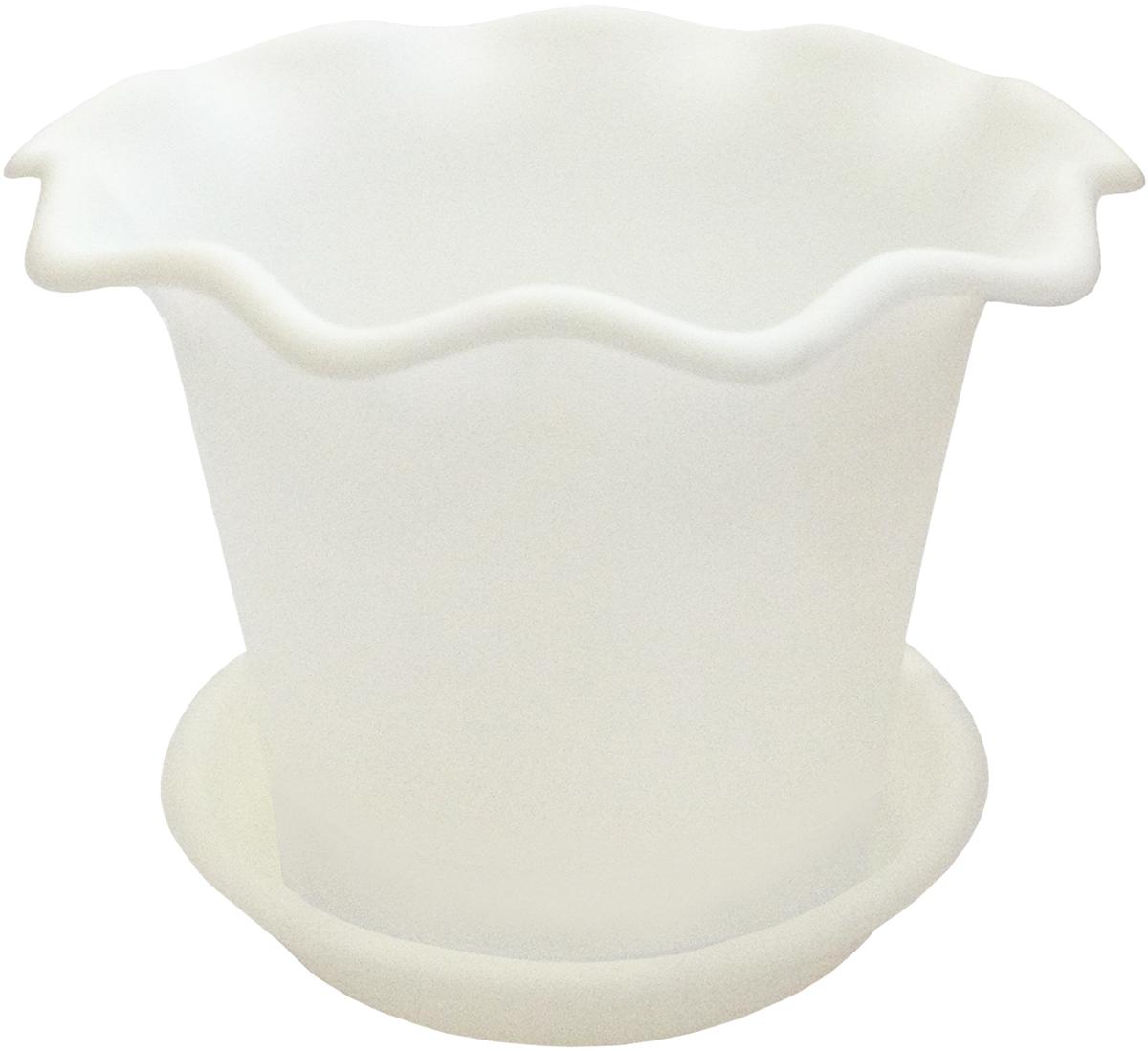 Горшок для цветов InGreen Бали, с поддоном, цвет: белый, диаметр 20 смING45020БЛГоршок InGreen Бали выполнен из высококачественного полипропилена (пластика) и предназначен для выращивания цветов, растений и трав. Снабжен поддоном для стока воды. Такой горшок порадует вас функциональностью, а благодаря лаконичному дизайну впишется в любой интерьер помещения. Диаметр горшка (по верхнему краю): 20 см. Высота горшка: 15 см. Диаметр поддона: 16 см.