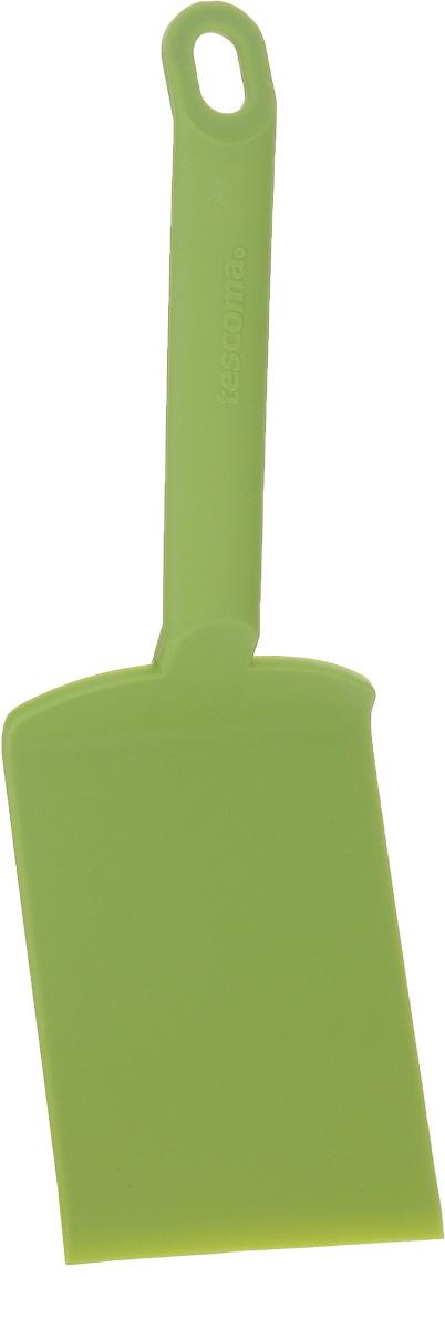 Лопатка для лазаньи Tescoma Space Tone, цвет: зеленый, длина 26 см638057_зеленыйЛопатка для лазаньи Tescoma Space Tone изготовлена из высококачественного термостойкого нейлона. Изделие оснащено эргономичной ручкой, которая не скользит в руках и делает ее использование удобным и безопасным. Ручка снабжена специальным отверстием для подвешивания. Подходит для всех видов посуды, особенно с антипригарным покрытием. Лопатка Tescoma Space Tone займет достойное место среди аксессуаров на вашей кухне. Можно мыть в посудомоечной машине. Длина изделия: 26 см. Размер рабочей поверхности: 12 х 8 см.