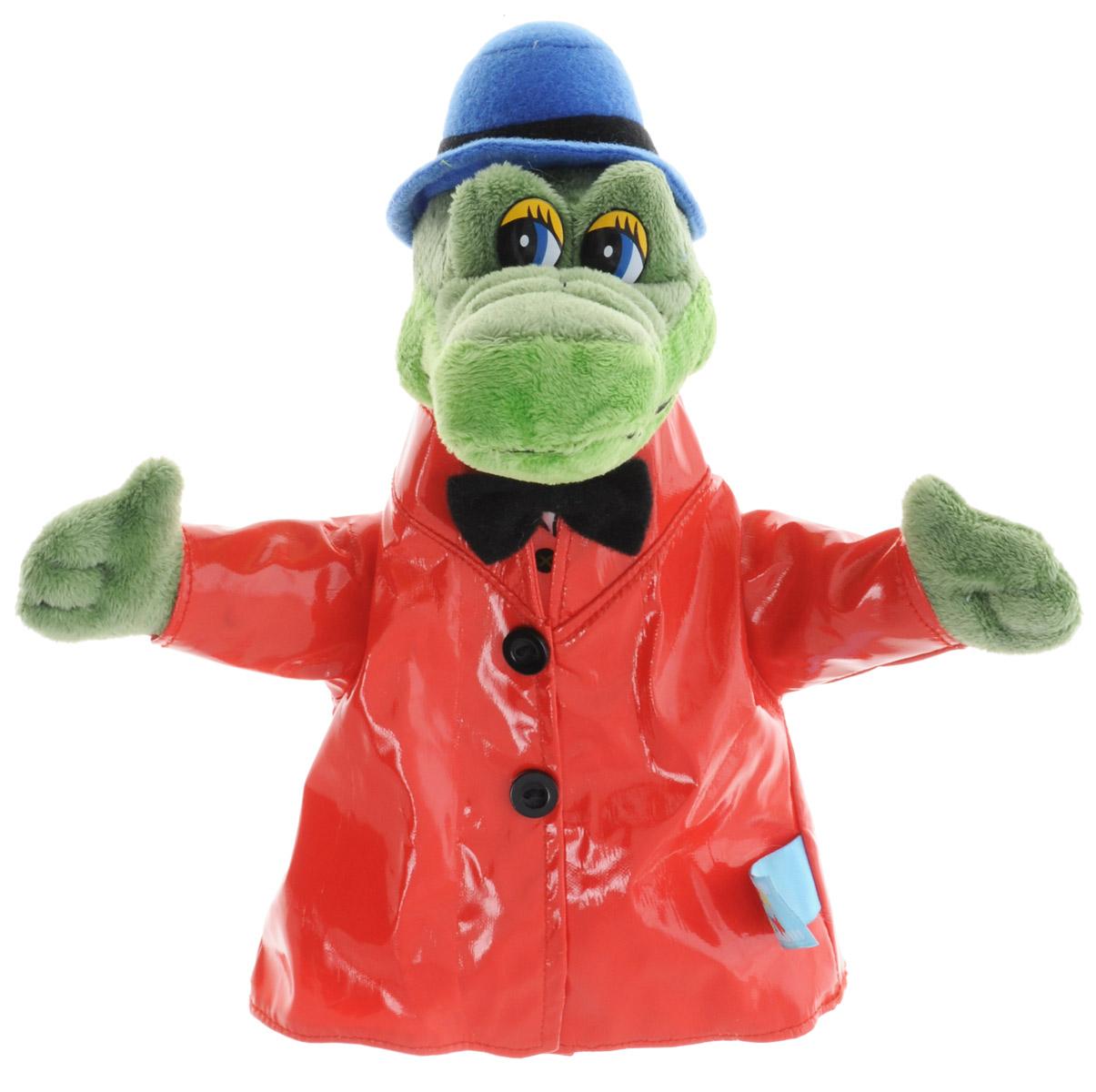 Мульти-Пульти Мягкая игрушка на руку Крокодил ГенаV41437/22Веселый и непосредственный герой Мульти-Пульти Крокодил Гена очарует детей любого возраста. Он поможет родителям не только развлечь ребенка, но и принять активное участие в его воспитании. Мягкая игрушка на руку Мульти-Пульти Крокодил Гена существенно разнообразит игры, позволит создать собственный кукольный театр и обыгрывать настоящие сюжетные спектакли. Игрушка выполнена из высококачественных и нетоксичных материалов, приятна на ощупь.