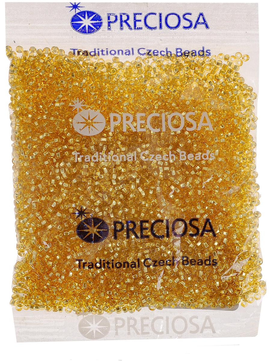 Бисер Preciosa Ассорти, с серебристой серединой, цвет: золотистый (02), 10/0, 50 г. 163142163142_02_золотойБисер Preciosa Ассорти, изготовленный из стекла круглой формы с серебристой серединой, позволит вам своими руками создать оригинальные ожерелья, бусы или браслеты, а также заняться вышиванием. В бисероплетении часто используют бисер разных размеров и цветов. Он идеально подойдет для вышивания на предметах быта и женской одежде. Изготовление украшений - занимательное хобби и реализация творческих способностей рукодельницы, это возможность создания неповторимого индивидуального подарка.