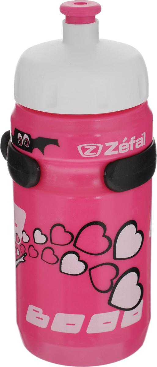 Фляга велосипедная детская Zefal Little Z, 350 мл. 162D162DВелосипедная фляга для детей Zefal Little Z изготовлена из пищевого пластика (без использования бисфенола и ПВХ). Внешние стенки изделия декорированы рисунком в виде привидения с сердечками и летучих мышей. Фляга снабжена специальным клапаном для удобного питья. Винтовая крышка с легкостью откручивается, а широкое горлышко позволяет аккуратно наполнять фляжку. Фляга снабжена специальным держателем для крепления к велосипеду. Высота фляги: 15,8 см.