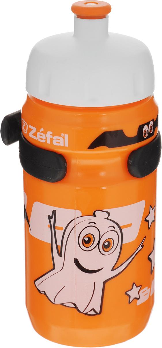 Фляга велосипедная детская Zefal Little Z, цвет: оранжевый, 350 мл162CВелосипедная фляга для детей Zefal Little Z изготовлена из пищевого пластика (без использования бисфенола и ПВХ). Внешние стенки изделия декорированы рисунком в виде привидения и летучих мышей. Фляга снабжена специальным клапаном для удобного питья. Винтовая крышка с легкостью откручивается, а широкое горлышко позволяет аккуратно наполнять фляжку. Фляга снабжена специальным держателем для крепления к велосипеду. Высота фляги: 15,8 см.