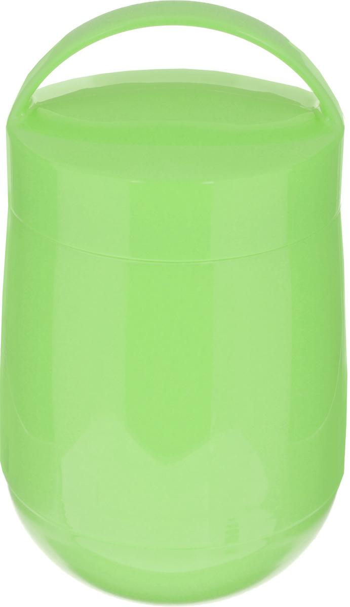 Термос для продуктов Tescoma Family, цвет: салатовый, 1,4 л310586Термос для продуктов Tescoma Family предназначен для хранения и переноски теплых и холодных блюд. Термос имеет две пластиковые емкости. Продукты можно хранить непосредственно в стеклянной колбе либо в пластиковых емкостях, которые вкладываются в изоляционную колбу. Особо рекомендуем использовать пластиковые емкости для продуктов с высоким содержанием жиров, сахара либо кислот, а также блюд, которые тяжело отмываются со стенок стеклянной колбы. Нейтральные продукты можно хранить непосредственно в изоляционной колбе. Термос имеет удобную ручку для транспортировки. Не рекомендуется мыть в посудомоечной машине. Диаметр малой чаши: 12 см. Высота малой чаши: 4,5 см. Диаметр большой чаши: 12 см. Высота большой чаши: 16,5 см. Диаметр термоса: 11,5 см. Высота термоса без учета крышки: 19,5 см.