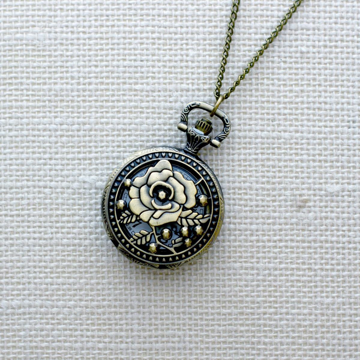 Кулон-часы Mitya Veselkov