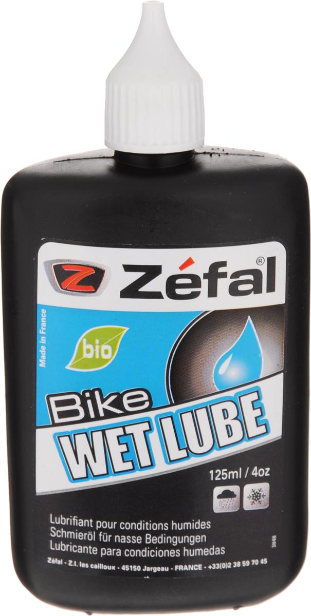 Смазка для велосипедной цепи Zefal Wet Lube, для влажной погоды, 125 мл000602Жидкая смазка для велосипедной цепи Zefal Wet Lube предназначена для использования во время влажной погоды. Это идеальный вариант для обеспечения максимальной работы вашей цепи и ее сохранности. Zefal – старейший французский производитель велосипедных аксессуаров премиального качества, основанный в 1880 году, является номером один на французском рынке велосипедных аксессуаров.