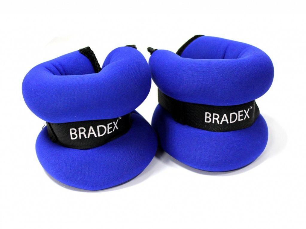 Утяжелители по 1,5 кг пара Bradex Геракл Экстра, цвет: синий. SF 0103SF 0103Используя утяжелители ГЕРАКЛ ПЛЮС во время занятий фитнесом, Вы значительно ускорите процесс похудения и подготовите тело для более интенсивных тренировок. Утяжелители прочно крепятся на кисти или лодыжки и не стесняют движений во время тренировки, создавая дополнительную нагрузку на руки или ноги во время приседаний, наклонов, махов, выпадов и подъемов. Дополнительная нагрузка в 1,5 кг. благотворно скажется не только на тренировках профессиональных спортсменов, но и начинающих энтузиастов. Надевая ГЕРАКЛ ПЛЮС во время бега или даже простой ходьбы, Вы укрепите мышцы ног, одновременно тренируя свою выносливость и силу воли. Используйте утяжелители ГЕРАКЛ ПЛЮС, и Вы повысите результативность упражнений, быстрее избавитесь от лишнего веса, а также подготовите тело к усложненной программе тренировок. Комплектация: 2 утяжелителя, инструкция. Материал: ПВХ, металл, нейлон. Вес:1,5 кг.