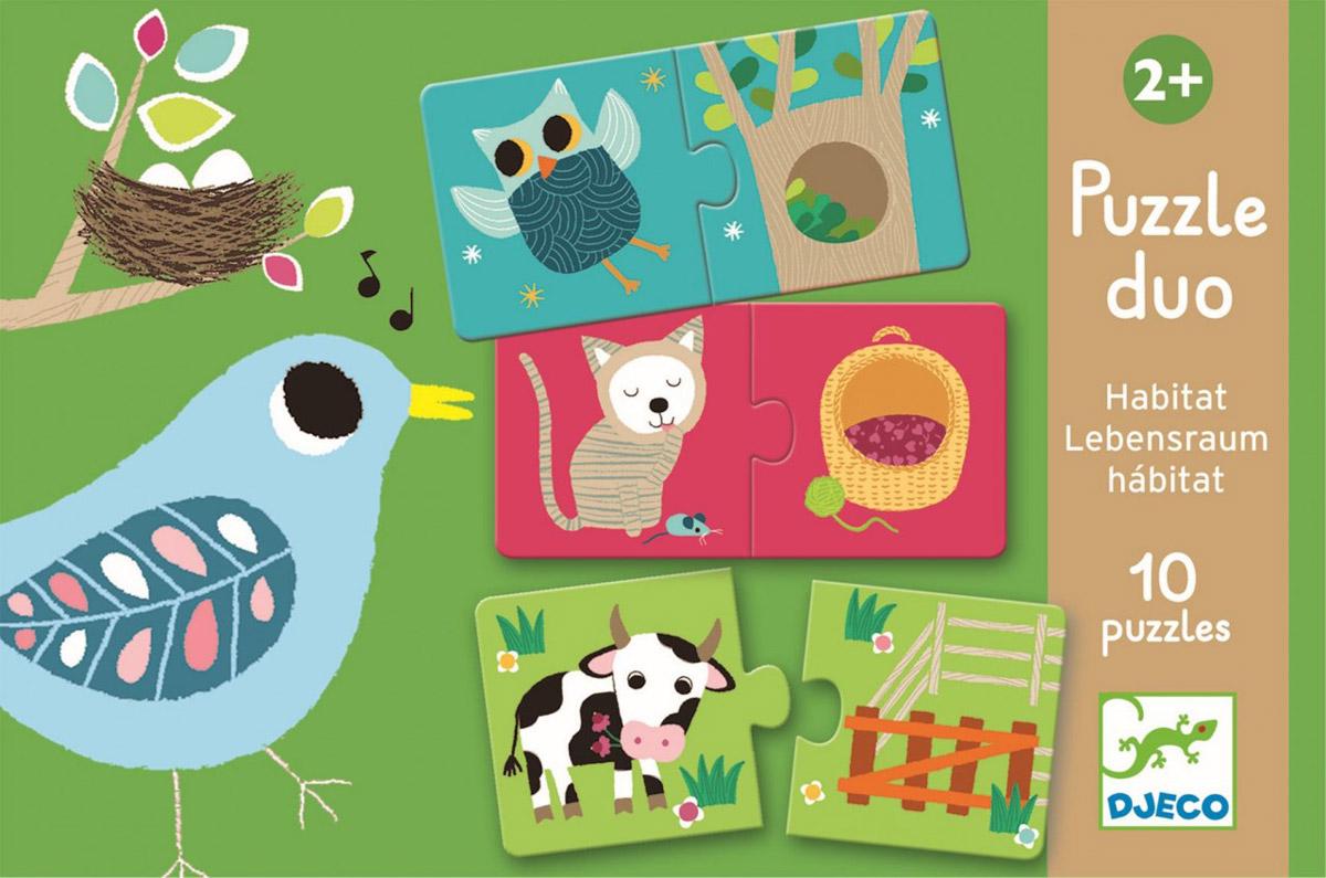 Djeco Развивающая игра Где живет?08164Настольная игра Djeco Животные - это развивающая игра-пазл, помогающая Вашему любимому ребенку выучить, какое животное в каком домике живет. Первые детские пазлы способствуют развитию мелкой моторики, усидчивости, закреплению понятия соответствий. Игра научит вашего ребёнка логически размышлять. Также малыш познакомится с чудесным миром природы, узнает много нового о мире природы. Эта игра поможет сплотить всю семью в часы досуга, а дети узнают прекрасное множество цветовой гаммы, и расширят свой кругозор.